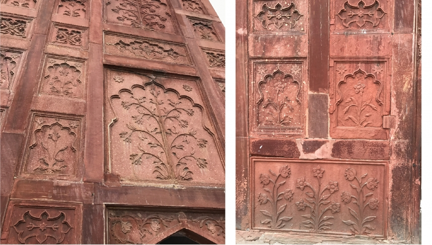 The Red Sandstone Art