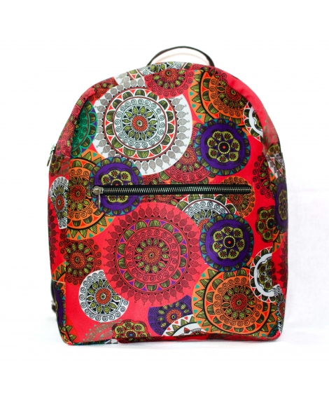 Mandala Printed Backpack