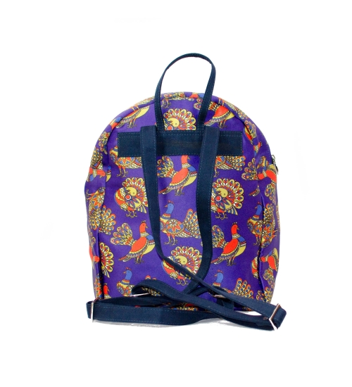Bird Printed Backpack
