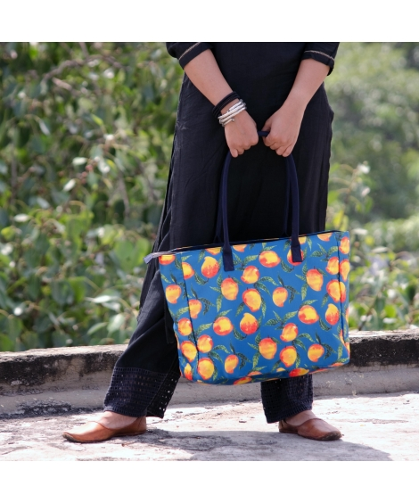 Mango Printed Bag