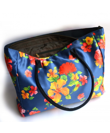 Hibiscus Printed Bag