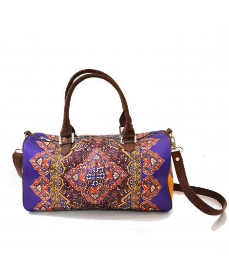 Rug Printed duffle bag