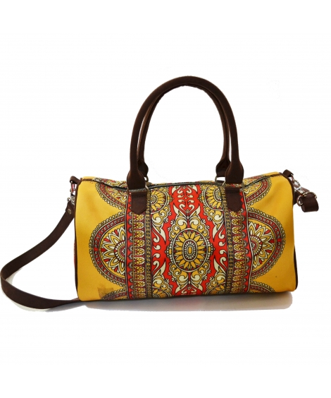 Deco Printed duffle bag