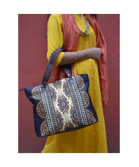 Deco Printed Hand bag