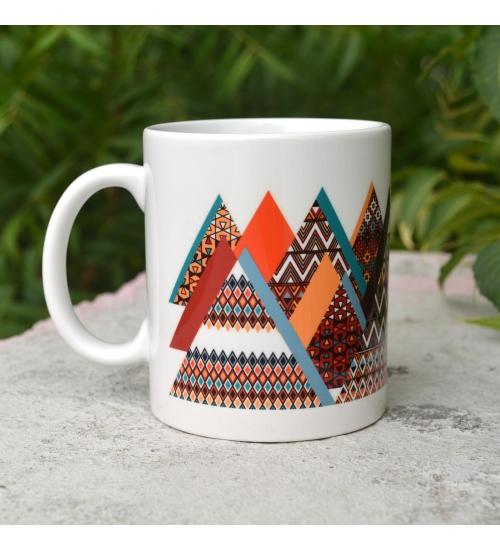 Mountain Colorful Gift Mug