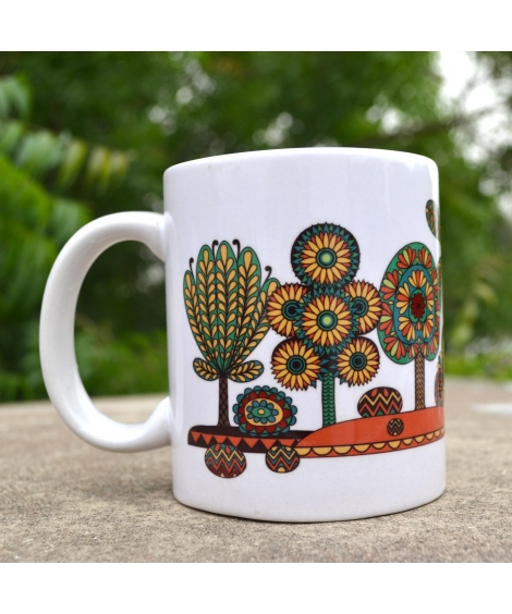 Tree Colorful Gift Mug