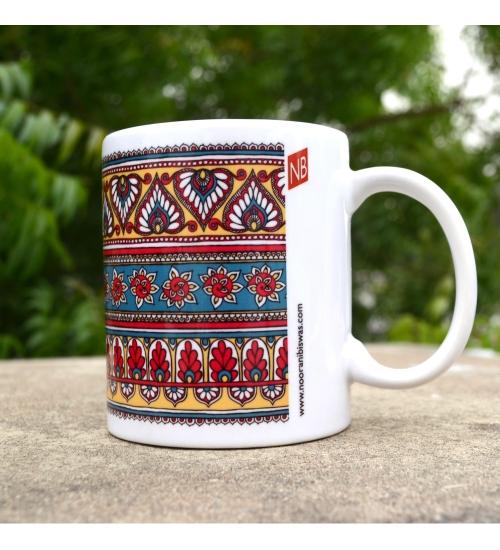 Border Colorful Gift Mug
