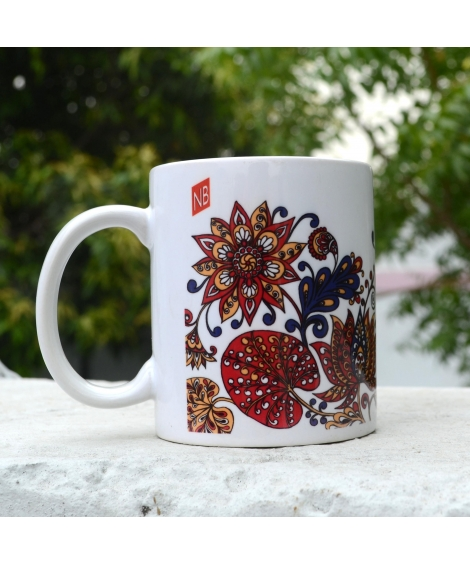 Lotus Colorful Gift Mug
