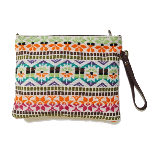 Dobby 1 Colorful  Woven Women Pouch