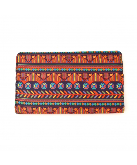 Border Printed Wallet