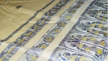 The Making of Murshidabad Silk.