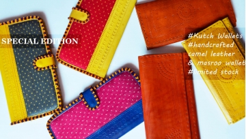 Leather Wallets from Kutch