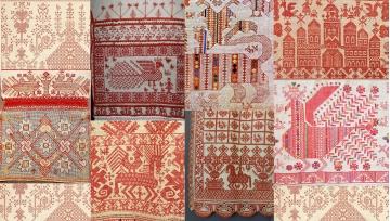Russian Folk Art Inspired Print